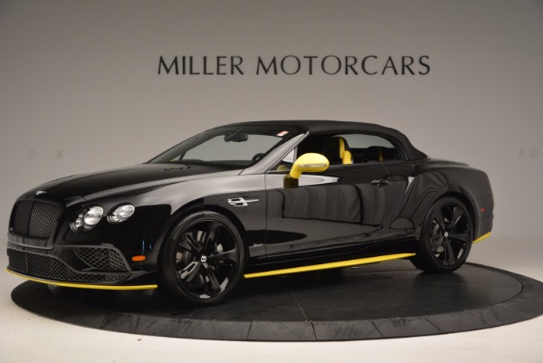 New 2017 Bentley Continental GT Speed Black Edition Convertible for sale Sold at Alfa Romeo of Greenwich in Greenwich CT 06830 11