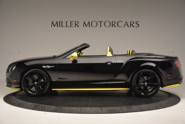 New 2017 Bentley Continental GT Speed Black Edition Convertible for sale Sold at Alfa Romeo of Greenwich in Greenwich CT 06830 3