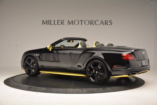New 2017 Bentley Continental GT Speed Black Edition Convertible for sale Sold at Alfa Romeo of Greenwich in Greenwich CT 06830 4