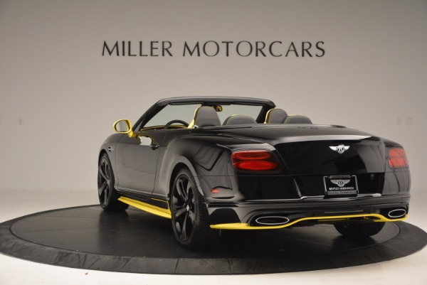 New 2017 Bentley Continental GT Speed Black Edition Convertible for sale Sold at Alfa Romeo of Greenwich in Greenwich CT 06830 5