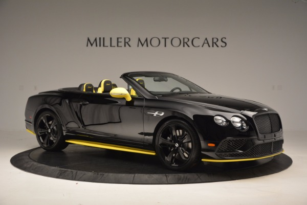 New 2017 Bentley Continental GT Speed Black Edition Convertible for sale Sold at Alfa Romeo of Greenwich in Greenwich CT 06830 7