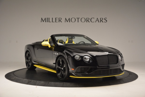 New 2017 Bentley Continental GT Speed Black Edition Convertible for sale Sold at Alfa Romeo of Greenwich in Greenwich CT 06830 8