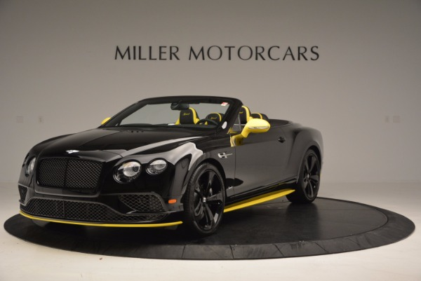 New 2017 Bentley Continental GT Speed Black Edition Convertible for sale Sold at Alfa Romeo of Greenwich in Greenwich CT 06830 1