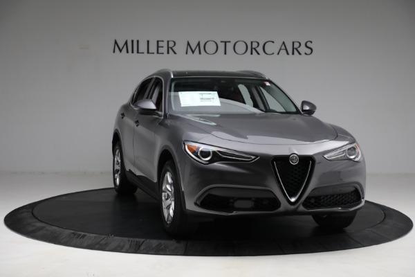 New 2021 Alfa Romeo Stelvio Q4 for sale $50,445 at Alfa Romeo of Greenwich in Greenwich CT 06830 11