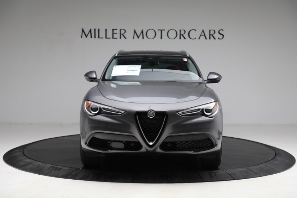 New 2021 Alfa Romeo Stelvio Q4 for sale $50,445 at Alfa Romeo of Greenwich in Greenwich CT 06830 12