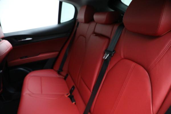 New 2021 Alfa Romeo Stelvio Q4 for sale $50,445 at Alfa Romeo of Greenwich in Greenwich CT 06830 18