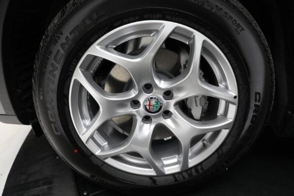 New 2021 Alfa Romeo Stelvio Q4 for sale $50,445 at Alfa Romeo of Greenwich in Greenwich CT 06830 23