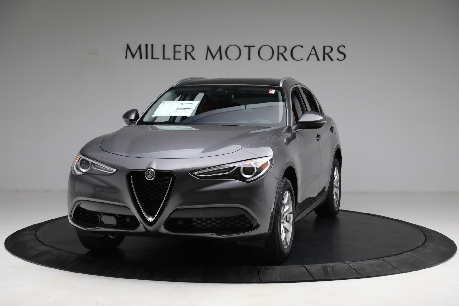 New 2021 Alfa Romeo Stelvio Q4 for sale $50,445 at Alfa Romeo of Greenwich in Greenwich CT 06830 1