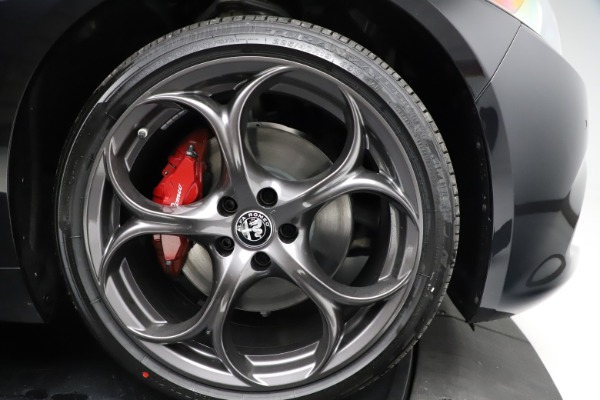 New 2021 Alfa Romeo Giulia Ti Sport Q4 for sale Sold at Alfa Romeo of Greenwich in Greenwich CT 06830 25