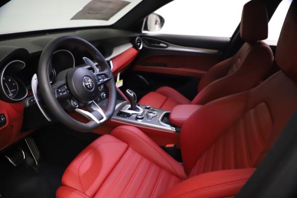 New 2021 Alfa Romeo Stelvio Ti Sport Q4 for sale $57,200 at Alfa Romeo of Greenwich in Greenwich CT 06830 14