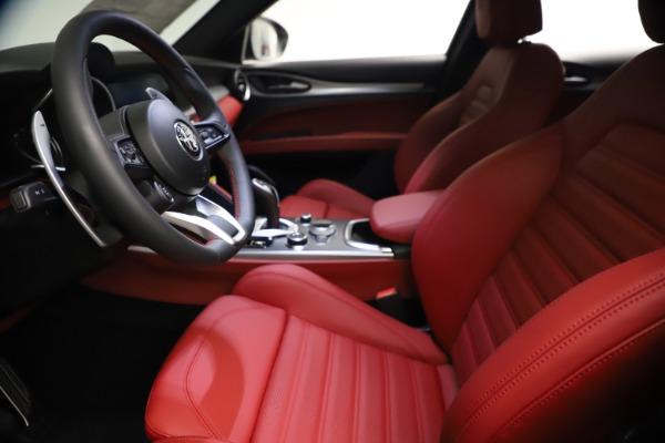 New 2021 Alfa Romeo Stelvio Ti Sport Q4 for sale $57,200 at Alfa Romeo of Greenwich in Greenwich CT 06830 15