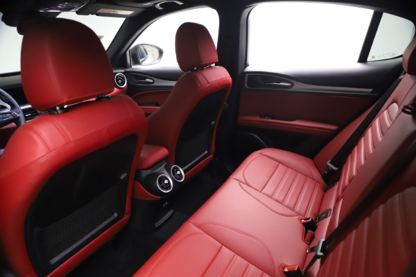 New 2021 Alfa Romeo Stelvio Ti Sport Q4 for sale $57,200 at Alfa Romeo of Greenwich in Greenwich CT 06830 18