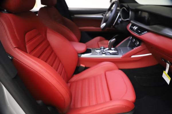 New 2021 Alfa Romeo Stelvio Ti Sport Q4 for sale $57,200 at Alfa Romeo of Greenwich in Greenwich CT 06830 22