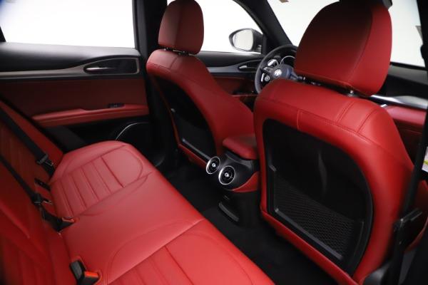 New 2021 Alfa Romeo Stelvio Ti Sport Q4 for sale $57,200 at Alfa Romeo of Greenwich in Greenwich CT 06830 24
