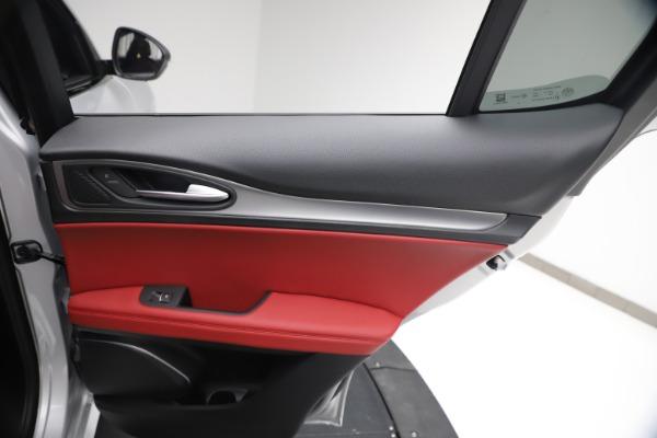 New 2021 Alfa Romeo Stelvio Ti Sport Q4 for sale $57,200 at Alfa Romeo of Greenwich in Greenwich CT 06830 26