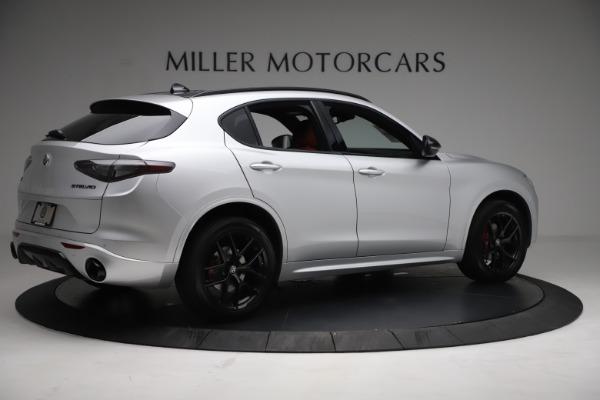 New 2021 Alfa Romeo Stelvio Ti Sport Q4 for sale $57,200 at Alfa Romeo of Greenwich in Greenwich CT 06830 8
