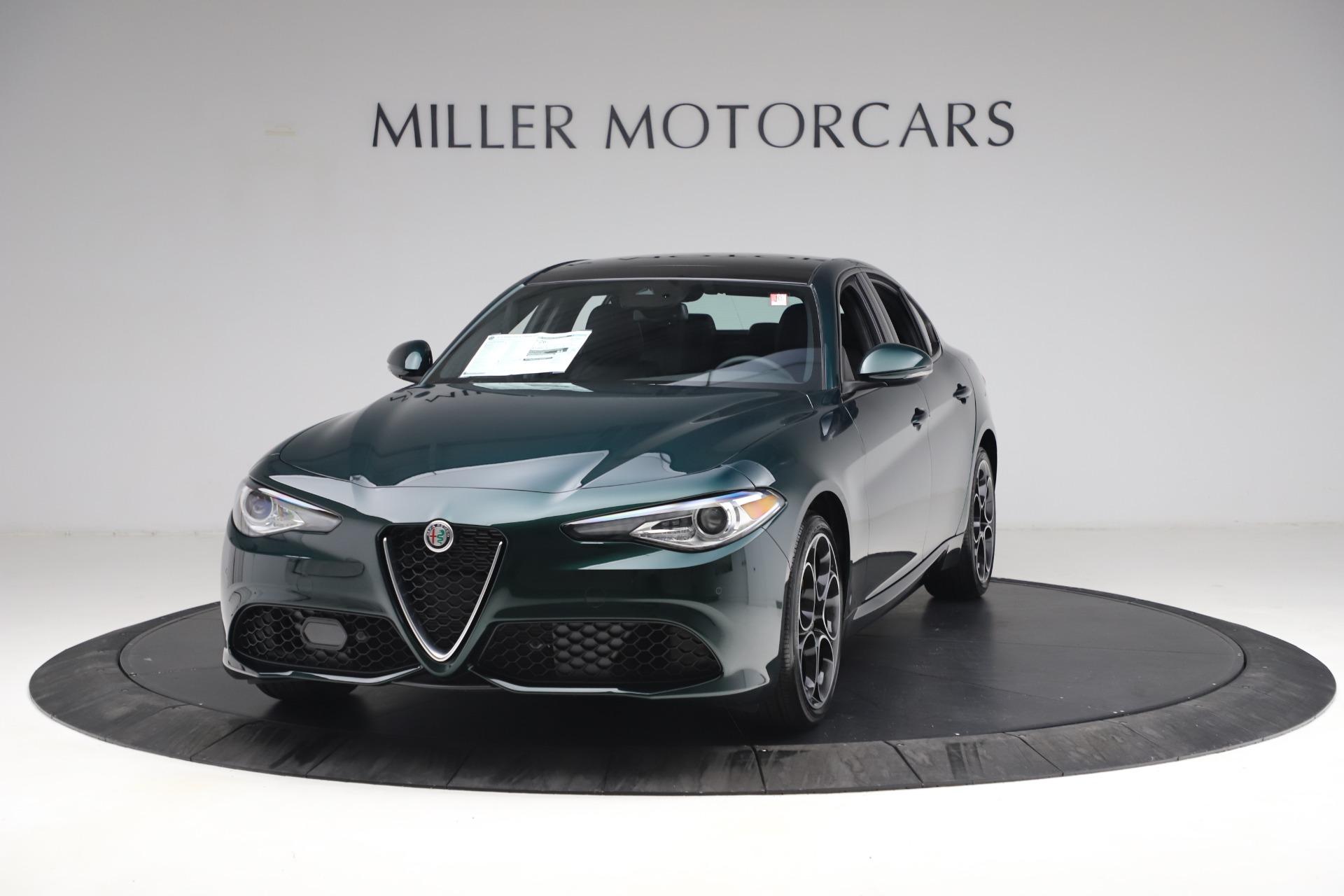 New 2021 Alfa Romeo Giulia Ti Sport Q4 for sale $53,050 at Alfa Romeo of Greenwich in Greenwich CT 06830 1