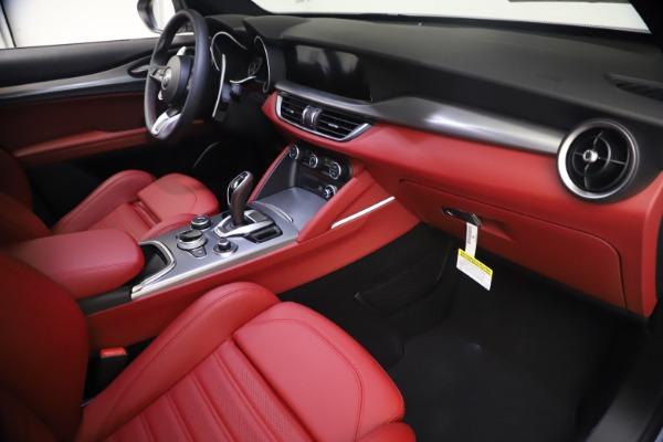 New 2021 Alfa Romeo Stelvio Ti Sport Q4 for sale $54,095 at Alfa Romeo of Greenwich in Greenwich CT 06830 22