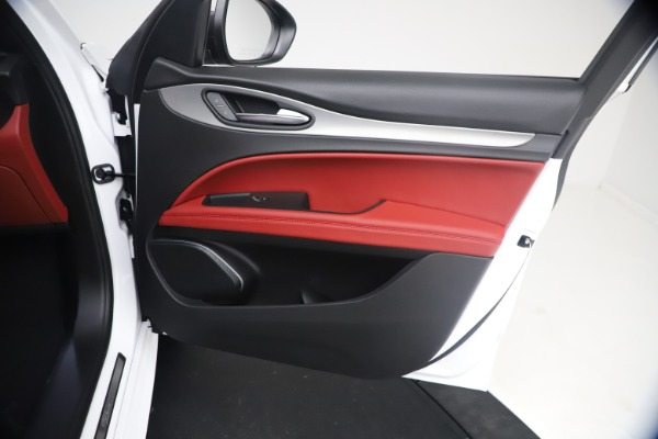 New 2021 Alfa Romeo Stelvio Ti Sport Q4 for sale $54,095 at Alfa Romeo of Greenwich in Greenwich CT 06830 24