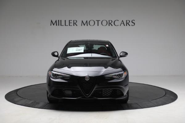 New 2021 Alfa Romeo Giulia Ti Sport Q4 for sale $54,050 at Alfa Romeo of Greenwich in Greenwich CT 06830 12