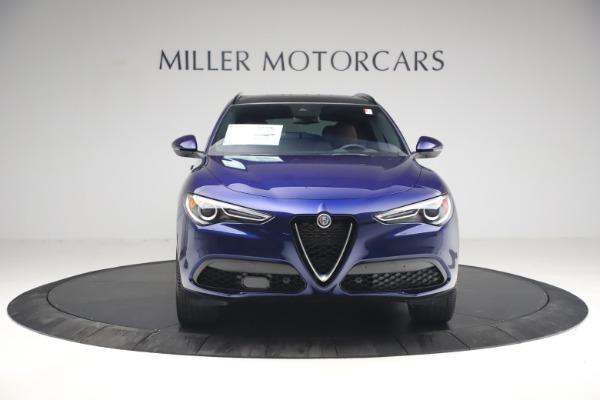 New 2021 Alfa Romeo Stelvio Ti Sport Q4 for sale $55,700 at Alfa Romeo of Greenwich in Greenwich CT 06830 12
