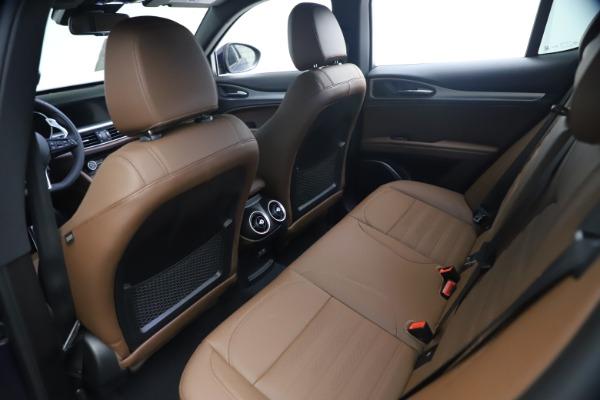 New 2021 Alfa Romeo Stelvio Ti Sport Q4 for sale $55,700 at Alfa Romeo of Greenwich in Greenwich CT 06830 16