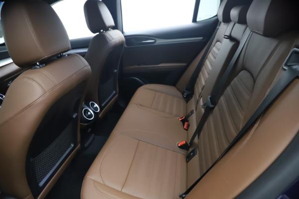 New 2021 Alfa Romeo Stelvio Ti Sport Q4 for sale $55,700 at Alfa Romeo of Greenwich in Greenwich CT 06830 17