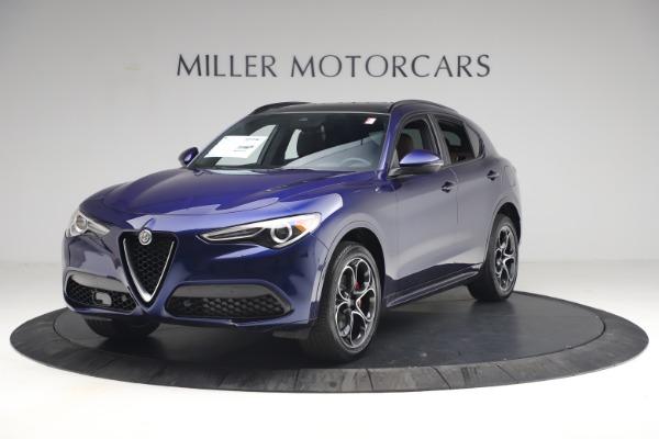 New 2021 Alfa Romeo Stelvio Ti Sport Q4 for sale $55,700 at Alfa Romeo of Greenwich in Greenwich CT 06830 2