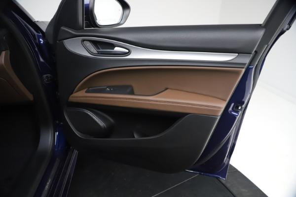 New 2021 Alfa Romeo Stelvio Ti Sport Q4 for sale $55,700 at Alfa Romeo of Greenwich in Greenwich CT 06830 22