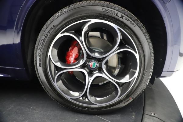New 2021 Alfa Romeo Stelvio Ti Sport Q4 for sale $55,700 at Alfa Romeo of Greenwich in Greenwich CT 06830 26