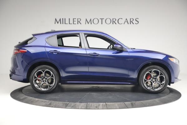 New 2021 Alfa Romeo Stelvio Ti Sport Q4 for sale $55,700 at Alfa Romeo of Greenwich in Greenwich CT 06830 9