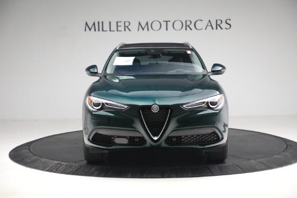 New 2021 Alfa Romeo Stelvio Q4 for sale $50,445 at Alfa Romeo of Greenwich in Greenwich CT 06830 14
