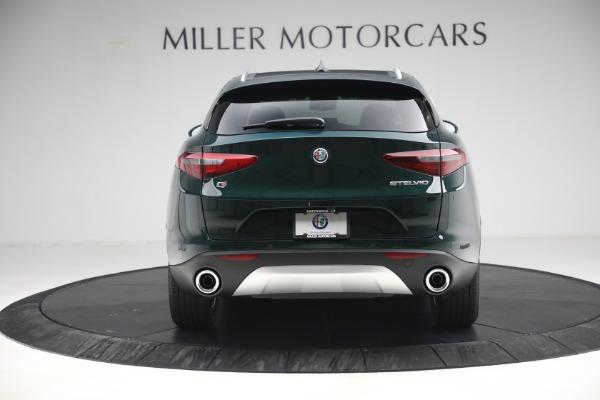 New 2021 Alfa Romeo Stelvio Q4 for sale $50,445 at Alfa Romeo of Greenwich in Greenwich CT 06830 6