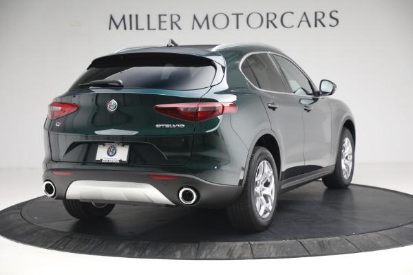 New 2021 Alfa Romeo Stelvio Q4 for sale $50,445 at Alfa Romeo of Greenwich in Greenwich CT 06830 7