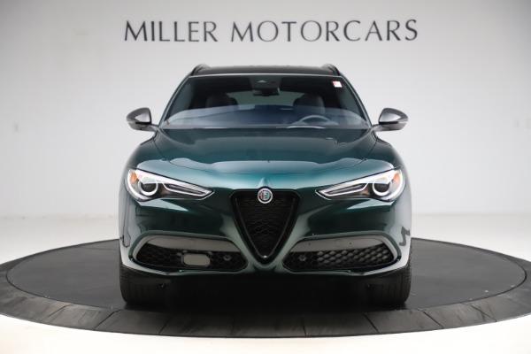 New 2021 Alfa Romeo Stelvio Ti Sport Q4 for sale $57,200 at Alfa Romeo of Greenwich in Greenwich CT 06830 13