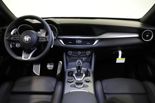 New 2021 Alfa Romeo Stelvio Ti Sport Q4 for sale $57,200 at Alfa Romeo of Greenwich in Greenwich CT 06830 17