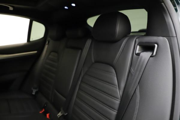 New 2021 Alfa Romeo Stelvio Ti Sport Q4 for sale $57,200 at Alfa Romeo of Greenwich in Greenwich CT 06830 19