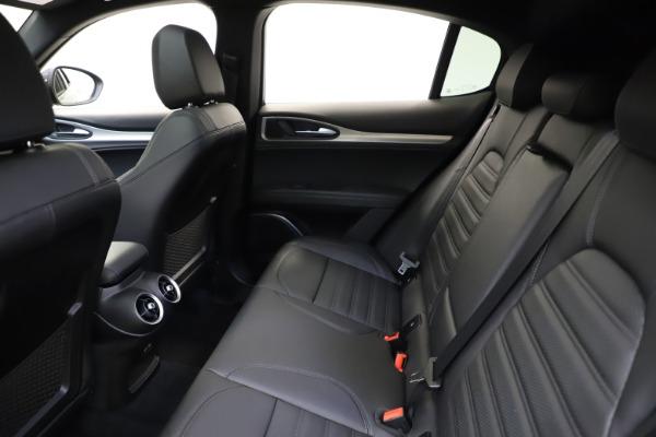 New 2021 Alfa Romeo Stelvio Ti Sport Q4 for sale $57,200 at Alfa Romeo of Greenwich in Greenwich CT 06830 20