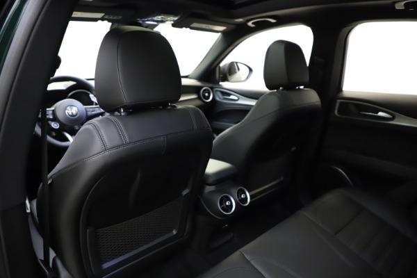 New 2021 Alfa Romeo Stelvio Ti Sport Q4 for sale $57,200 at Alfa Romeo of Greenwich in Greenwich CT 06830 21