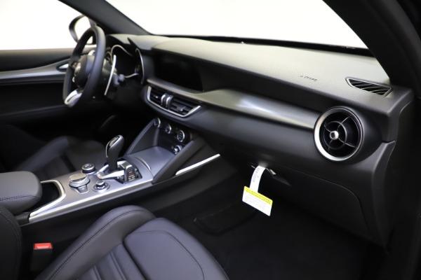 New 2021 Alfa Romeo Stelvio Ti Sport Q4 for sale $57,200 at Alfa Romeo of Greenwich in Greenwich CT 06830 23