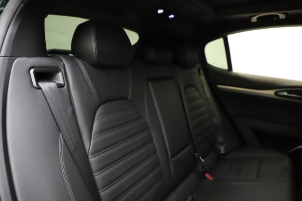 New 2021 Alfa Romeo Stelvio Ti Sport Q4 for sale $57,200 at Alfa Romeo of Greenwich in Greenwich CT 06830 27