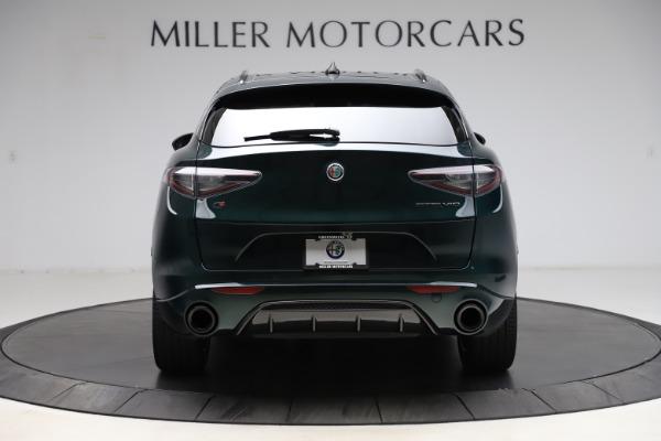 New 2021 Alfa Romeo Stelvio Ti Sport Q4 for sale $57,200 at Alfa Romeo of Greenwich in Greenwich CT 06830 6