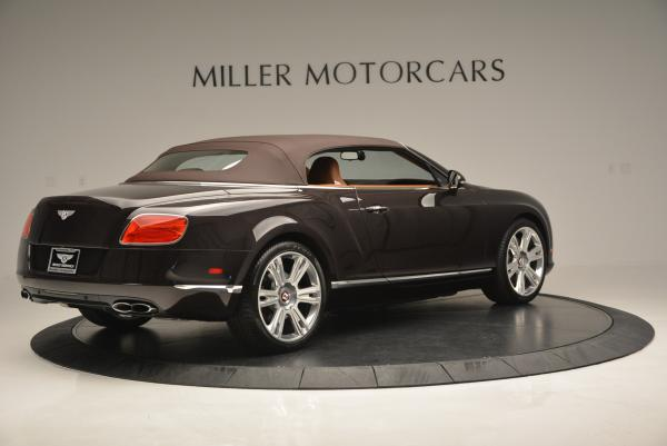 Used 2013 Bentley Continental GTC V8 for sale Sold at Alfa Romeo of Greenwich in Greenwich CT 06830 21