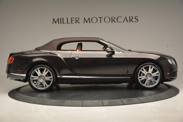 Used 2013 Bentley Continental GTC V8 for sale Sold at Alfa Romeo of Greenwich in Greenwich CT 06830 22