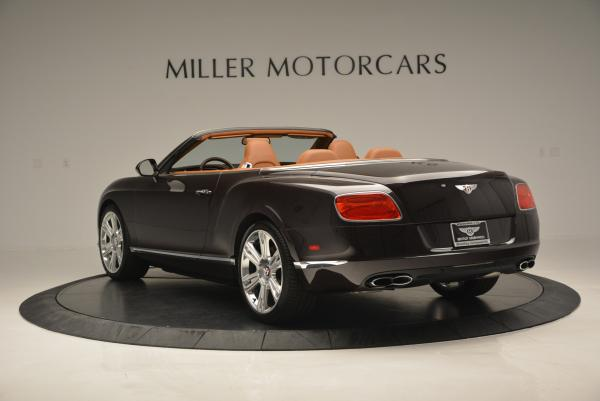 Used 2013 Bentley Continental GTC V8 for sale Sold at Alfa Romeo of Greenwich in Greenwich CT 06830 5