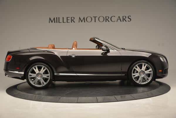 Used 2013 Bentley Continental GTC V8 for sale Sold at Alfa Romeo of Greenwich in Greenwich CT 06830 9