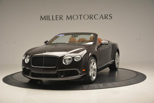 Used 2013 Bentley Continental GTC V8 for sale Sold at Alfa Romeo of Greenwich in Greenwich CT 06830 1