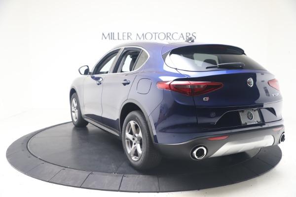 New 2021 Alfa Romeo Stelvio Q4 for sale $49,945 at Alfa Romeo of Greenwich in Greenwich CT 06830 5