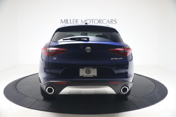 New 2021 Alfa Romeo Stelvio Q4 for sale $49,945 at Alfa Romeo of Greenwich in Greenwich CT 06830 6