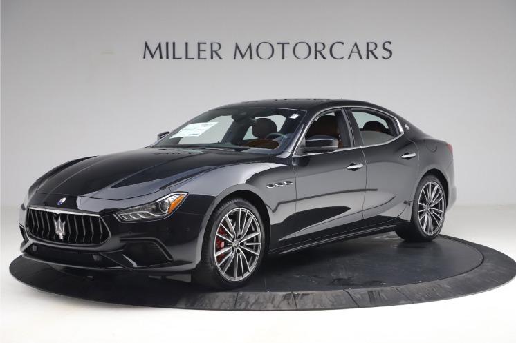New 2021 Maserati Ghibli S Q4 for sale $89,775 at Alfa Romeo of Greenwich in Greenwich CT 06830 1